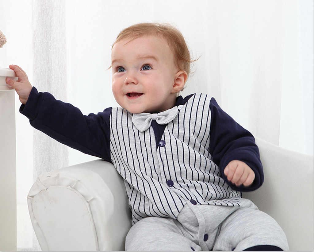 Mamelucos para bebés cálidos con capucha Infantil Niño niña trajes otoño manga larga recién nacido Bebés Ropa niños monos 3 M-18 M
