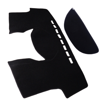 CITALL samochód czarna deska rozdzielcza mata na deskę rozdzielczą osłona przeciwsłoneczna podkładka dywanowa nadające się do Toyota Yaris 2006 2007 2008 2009 2010 2011 tanie i dobre opinie 23 cm Felt fabric 0 567 kg 48 cm 10 cm Black approx 130x56 cm(51 18x22 05 inch) (LxW) Front for protecting dashboard from UV rays