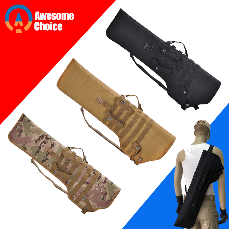 3 Color Tactical Rifle Shotgun Scabbard Holster Military Army Gun Bags Assault Long Gun Knife Hunting Bag Army Pouch Case