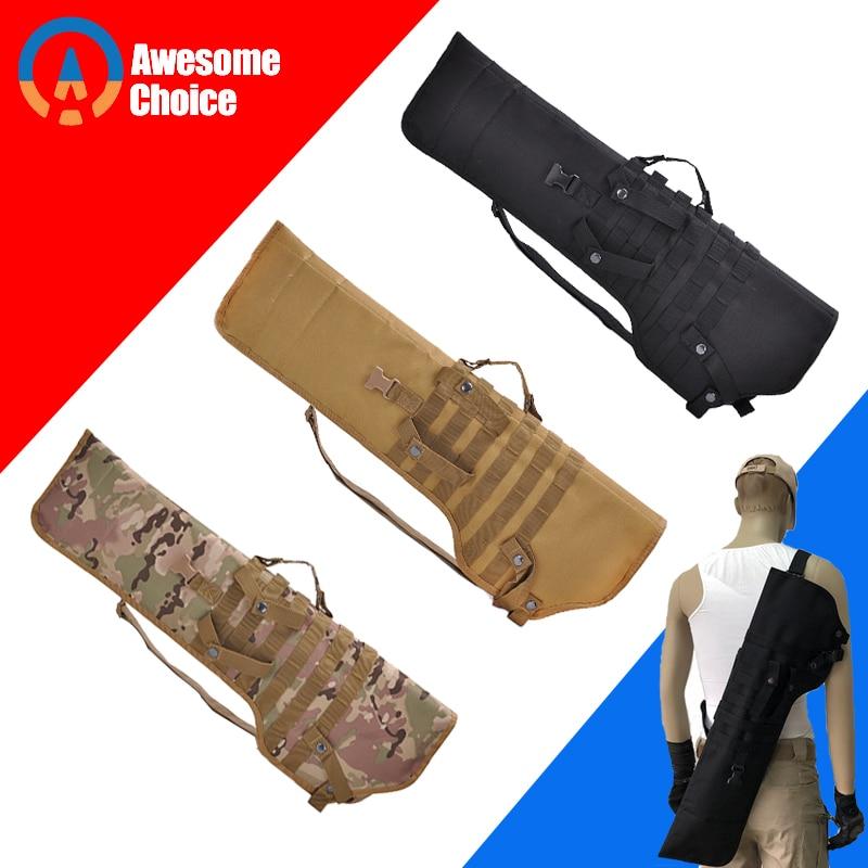 3 Color Tactical Rifle Shotgun Scabbard Holster Military Army Gun Bags Assault Long Gun Knife Hunting Bag Army Pouch Case