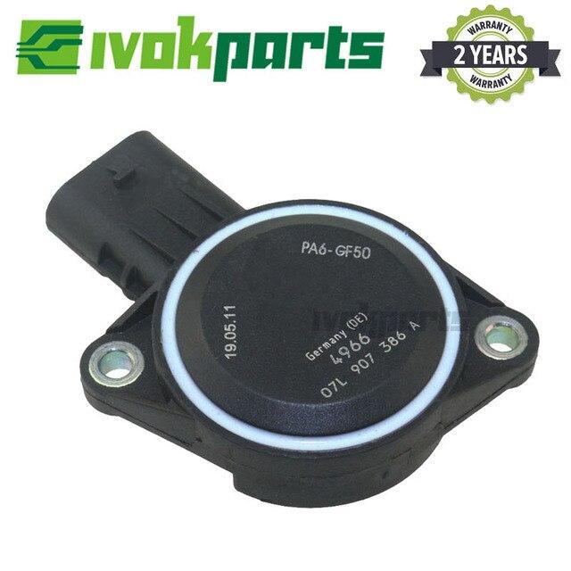 Engine Air Intake Manifold Flap Position Runner Control Sensor For Volkswagen CC Tiguan Beetle Eos Passat 2.0L 07L 907 386 A 1