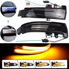 2 pces para mercedes benz a classe w176 2013 2017 a180 a200 a250, a45 led blinker dinâmico turn signal light espelho lateral repetidor
