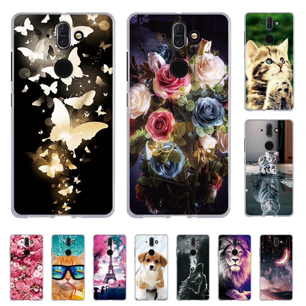Print TPU Cover For Nokia 8 Sirocco Back Phone Case For Nokia 8 Sirocco Painted Soft Silicone Cases For Nokia 8 Sirocco Shells