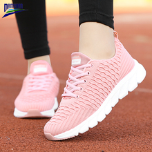 Damyuan Flat Shoes Women Breathable Zapatos De Mujer Platform Black Sneakers Ladies 2020 New Spring Mesh Loafers Female Soft