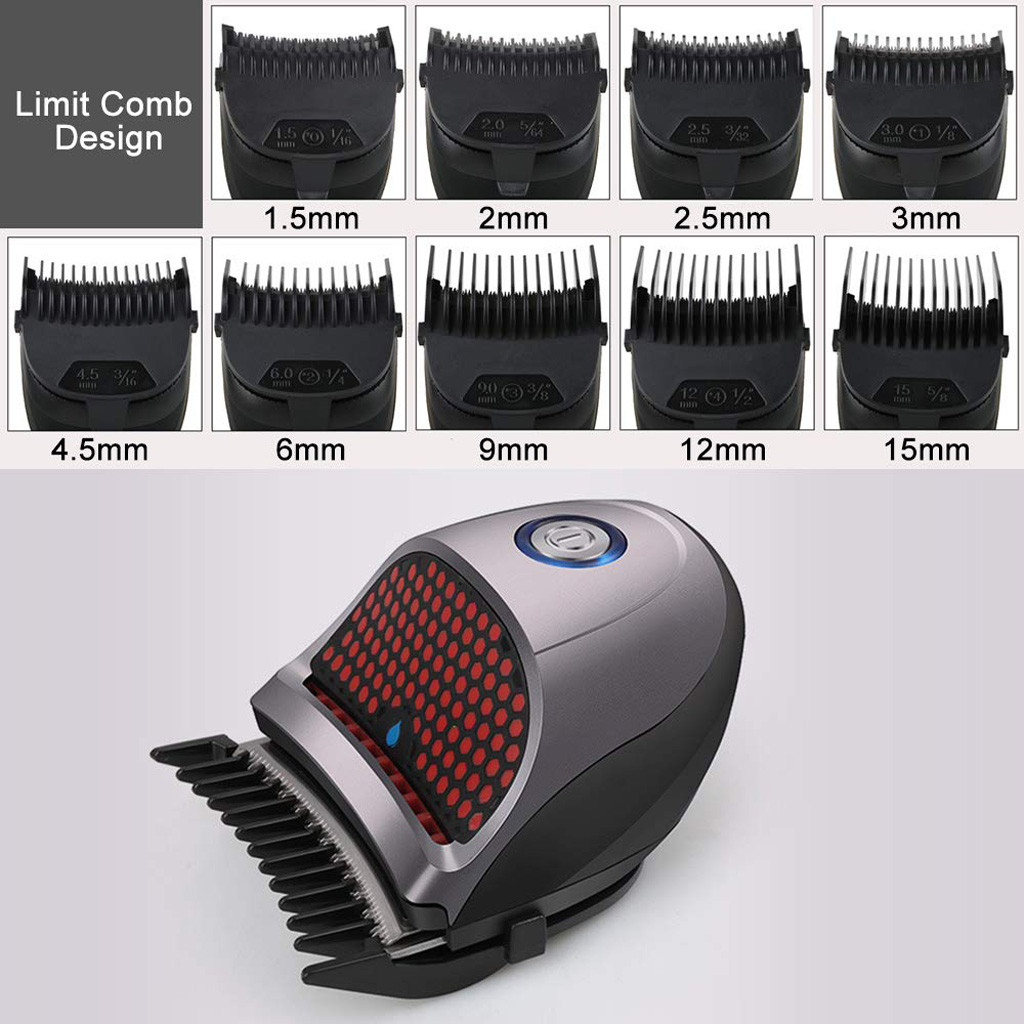 Home Self Haircuter Clipper Mini Household Shaver Clippers Mute Rechargeable Cordless Electric Hair Clippers Home Tools #25