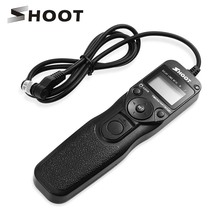 SHOOT MC 30 LCD Timer Remote Control Shutter Release for Nikon D800 D810 N90S KODAK DCS620 FUJI S3 Film SLR F6/F5 DLSR Camera