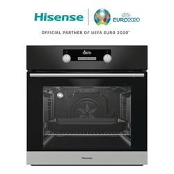 Hisense BI3222AB Horno empotrable, Acero inoxidible, 71L, 2700 Вт, fаcil de limpiar, Multisistema, 59,7 × 59,5 × 54,7 см