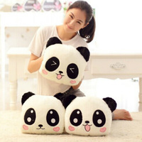 Cartoon Panda Plush Hand Warmer Case Hand Warmer Not Charging Double Intervene Pillow Hand Women's Birthday Gift