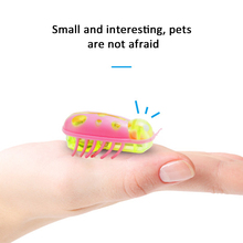 funny Cat Escaping Obstacles Automatically Mouse Ladybug Electric Pet Toy Insect Automatically Turn Over Intelligence Trainnig