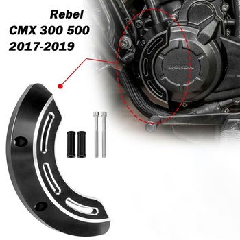 for HONDA Rebel CMX 300 500 2017-2019 Left Engine Cover Stator Case Guard CNC Frame Slider Falling Protection