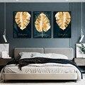 Настенные картины для гостиной холст Современная мода светильник класса люкс ногтей поталь с картина нишу творческий спальня украшения ка...