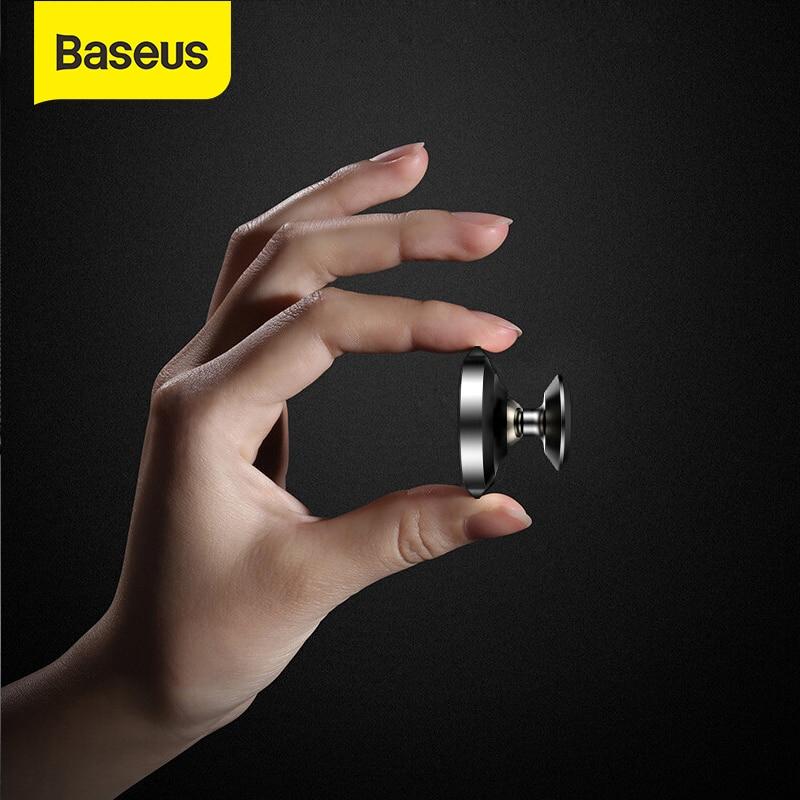Baseus Car Phone Holder Magnetic Magnet Mobile Phone Car Holder Cell Phone Universal Car Mount Holder For IPhone XS Max Samsung