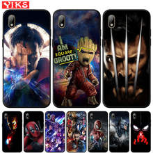 Case For Honor 7A Pro 8S P Smart Z Marvel's The Avengers Deadpool Cover For Huawei Y5 Lite Y6 Prime 2018 2019 Y7 Y9 Prime 2019(China)