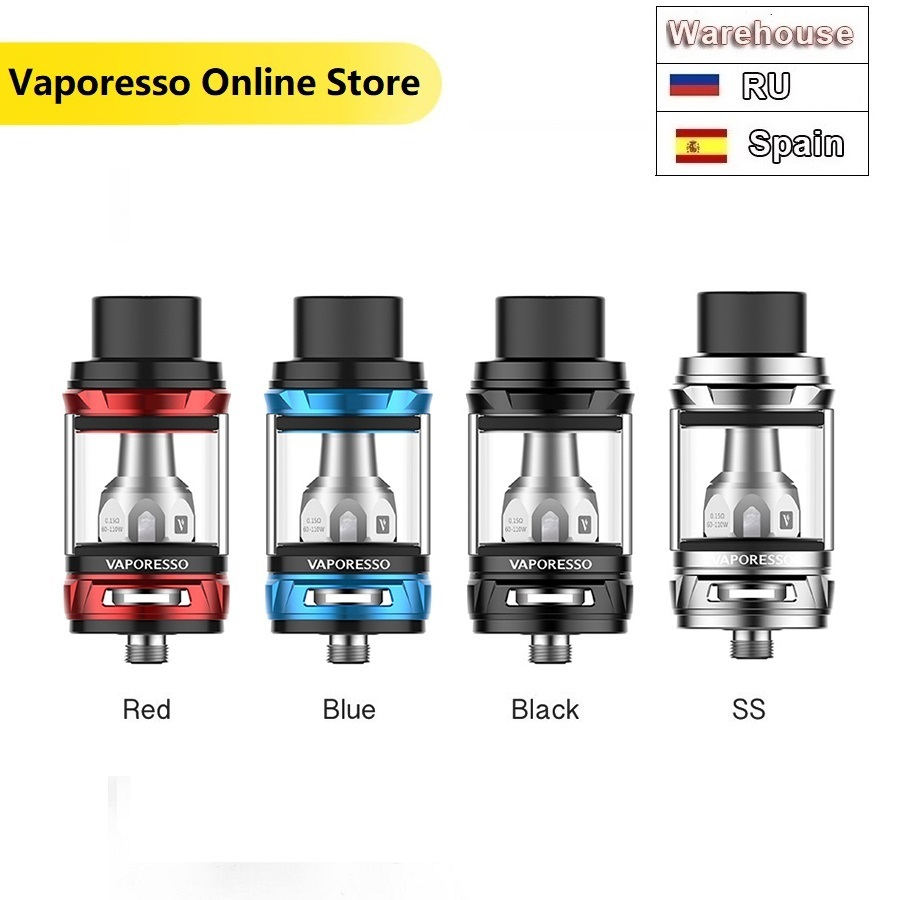 Original Vaporesso NRG Tank 5ml With 0.15ohm GT4/GT8 Coil Head NRG Atomizer Mathch Revenger TC MOD Electronic Cigarette Evape