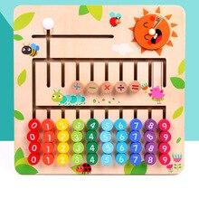 Дети младшего возраста Математика ENLIGHTEN учебные материалы детский сад сложение и вычитание с числами найти лабиринт Cogn