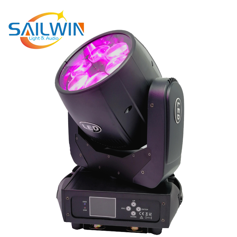 Hot Sale 6*40W 4IN1 RGBW LED Moving Head Bee Eye Light For DJ Wedding Party Light Stage Lights