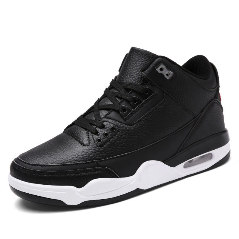 Men Air Cushion Basketball Shoes Tennis Shoes High Top Gym Training Boots Jordan Shoes Outdoor Men Sneakers Athletic Sport image