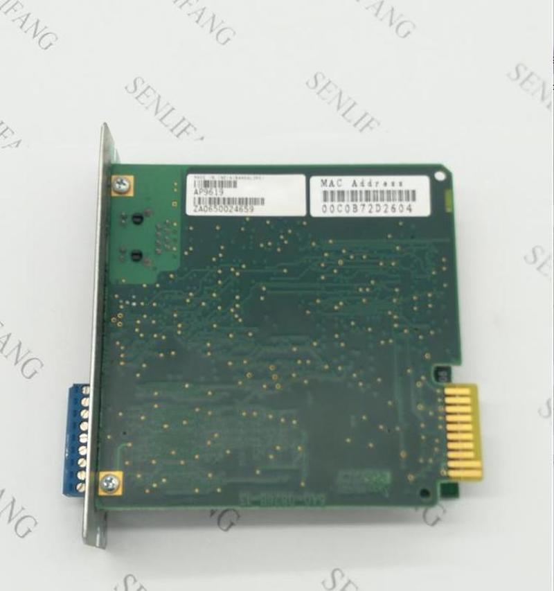 Working For  AP9619  Network Management Card UPS Monitoring Card, APC UPS Remote Card