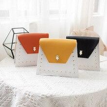 цена на 2020 Winter New shopping Bag Orange Small bags Fashion Shoulder Bag messenger bags Handbags Wholesale Clutch Bag PU leather bag