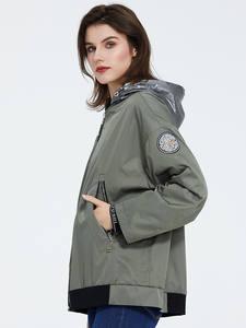 Astrid 2020 весна женская теплая хлопковая стеганая куртка длинные тонкие парки Плюс Размер Пальто с капюшоном Повседневная короткая парка ...