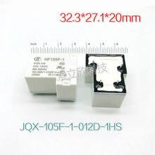 5 stücke Neue Relais JQX-105F-1 012D-1HS JQX-105F-1 024D-1HS HF105F-1 024D-1HS HF105F JQX 105F 1 012D 1HS 4PIN Schließer 30A