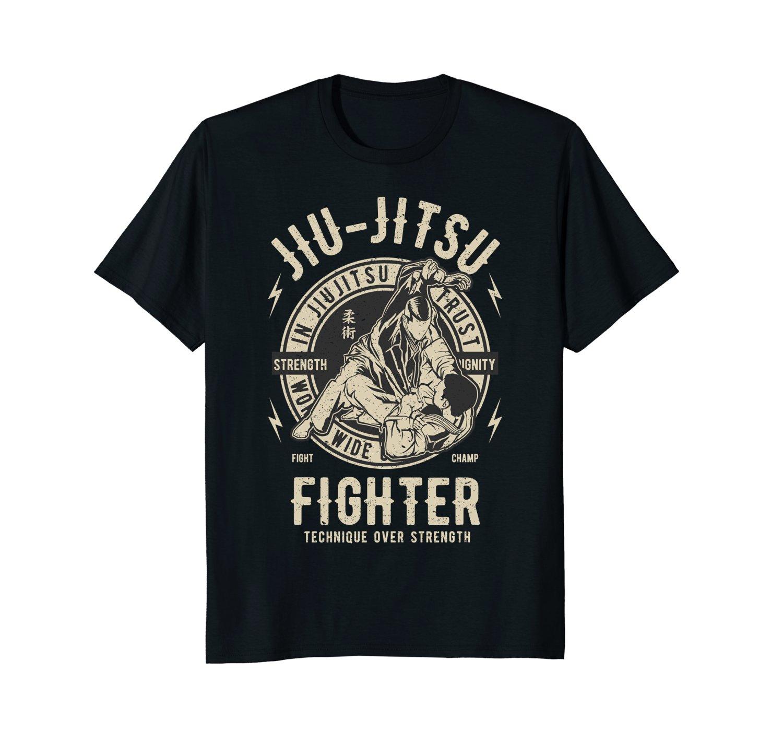 Short Sleeve Cool Casual JIU JITSU T SHIRT BJJ TEE Brazilian Jiu Jitsu T-Shirt O-Neck T Shirt Men