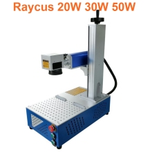Raycus fiber Laser Marking Machine 30W split laser marking machine mini faber laser marking machine 9mm max tube marking machine sticker 8m