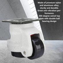 4 шт выдвижные нивелирующие ролики промышленная машина поворотные