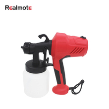 Realmote 220V High Power Electric PaintSprayer Home Paint spray gun Easy Spraying Auto Furniture Steel Coating Airbrush
