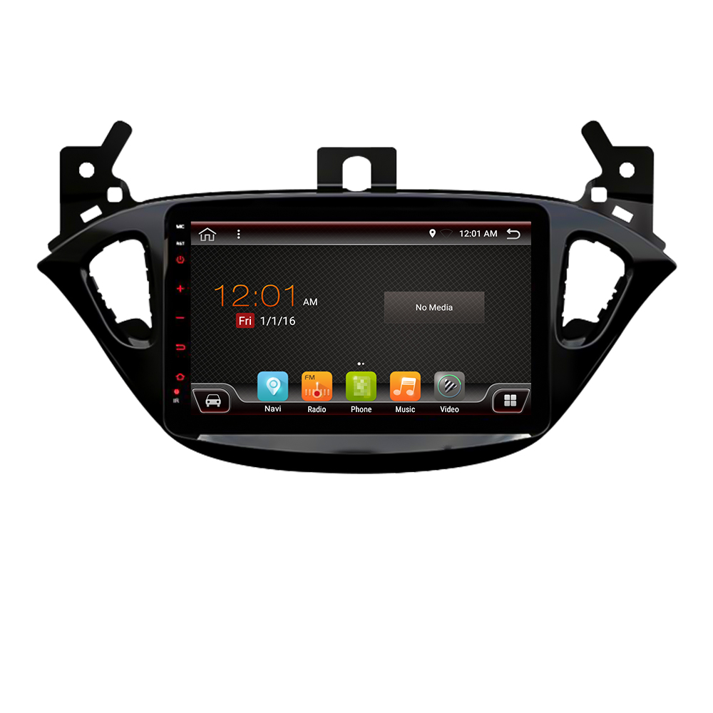 Eunavi 2 din auto radio 4G + 64G android 9.0 für opel Corsa E 2014 2015 2016 gps NAVI WIFI auto stereo PX6 2,0 GHz Autoradio keine dvd