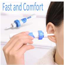 1Pcs Ear Cleaner Tool Easy Earwax Removal Soft Spiral Cleaner Ears