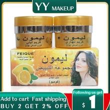 Feique lemon skin lightening cream day and night cream whitening cream for face