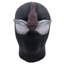 Spiderman Far From Home Stealth Mask Spider Man Cosplay Costume Black Halloween Adult Glasses Superhero Props