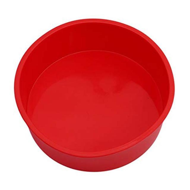 Фото силиконовая круглая форма для кекса выпечки fda кухонные принадлежности
