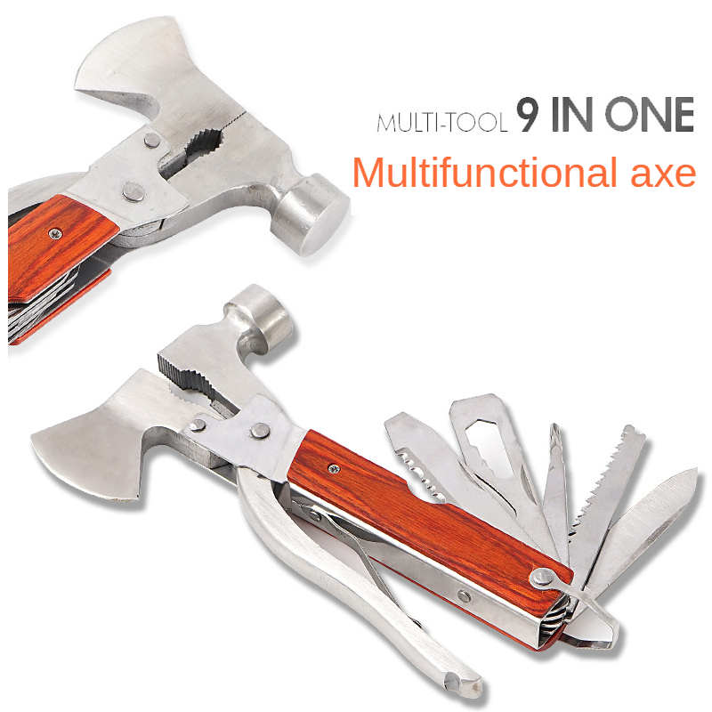 Outdoor Tools Hammer Multitool Axe Tools Car Mounted Tools Multi Tool Camping WithTent Hammer Home Emergency Equipment