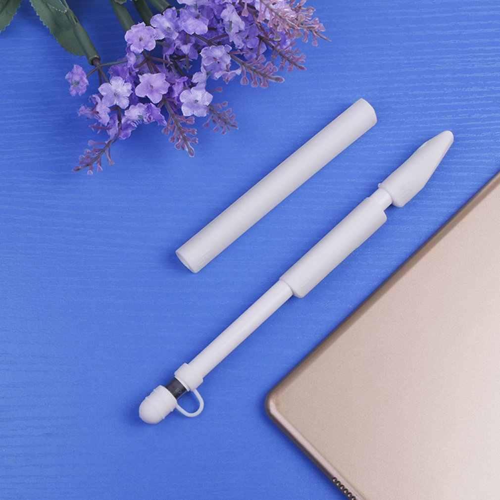 جديد لينة سيليكون لابل قلم رصاص حافظة لجهاز ipad قلم رصاص تلميح غطاء حامل اللوحي اللمس القلم ستايلس 360 حقيبة كيس واقية كاملة
