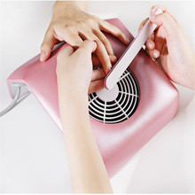 Nails Dust Collector Manicure Vacuum Cleaner Salon Nail Vacuum Nail Dust Collector Nail Dust Vacuum Manicure with Vacuum Bag