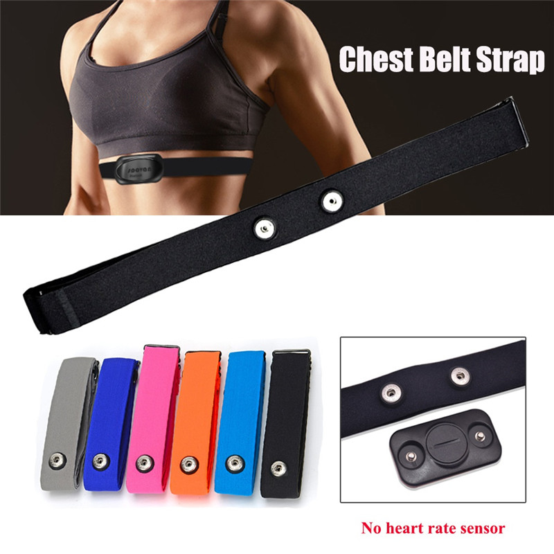 Elastic Chest Belt High Quality Soft Strap Band For Polar Sports Running Heart Rate Monitor For Bluetooth Adjustable