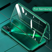 Funda de teléfono con tapa adsorción magnética para Samsung A51, A21s, A71, A30s, A50, M30s, S20, cubiertas traseras Ultra, Samsun S 20 Plus A 51