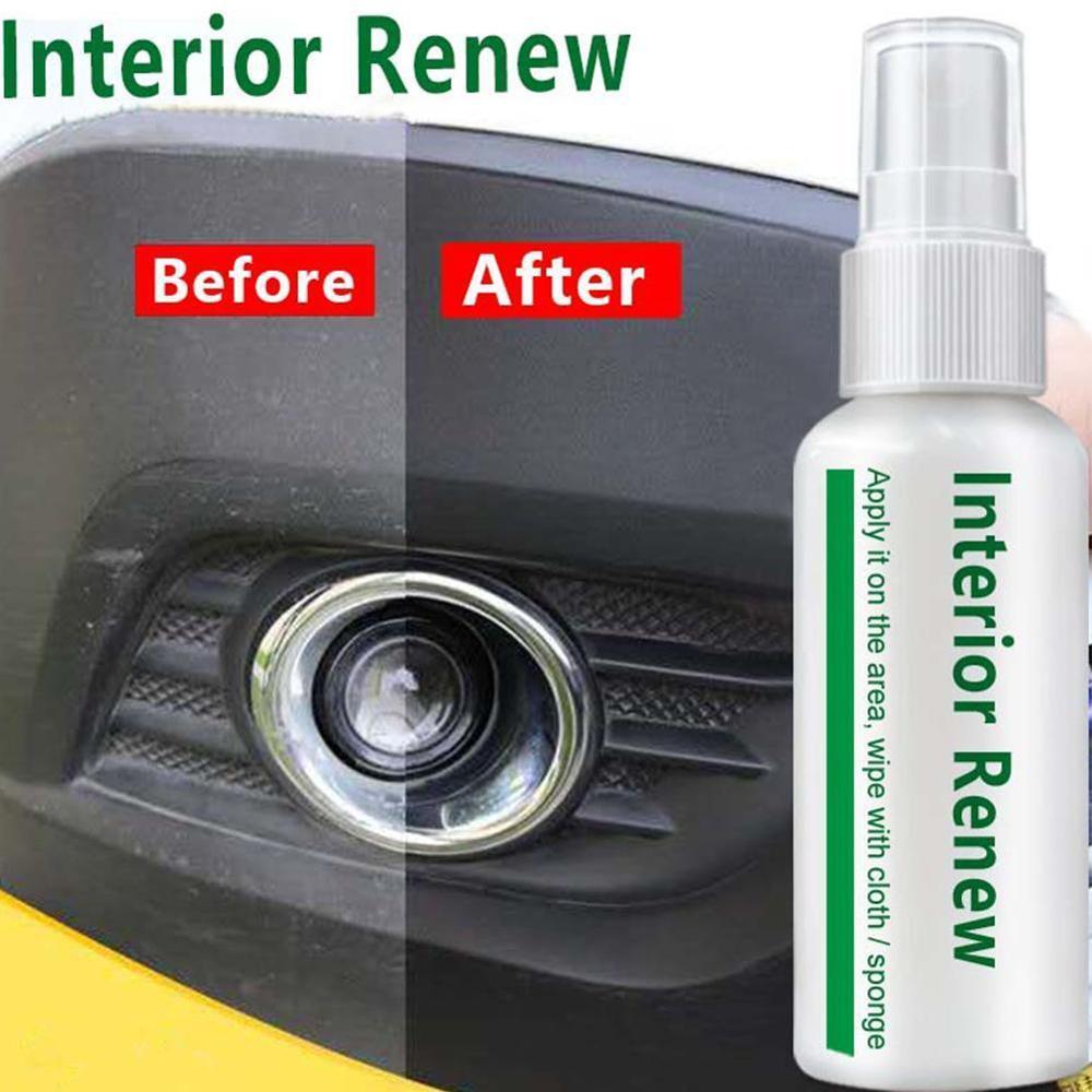NEW Car Repair Refurbished Interior Surface Layer Plastic Parts Retreading Agent Interior Maintenance Cleaner Refurbisher Agent