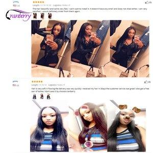 Image 3 - Cranberry Hair mechones de cabello liso malasio, extensiones de cabello humano mechones de 100g por pieza, se pueden comprar 3 o 4 mechones, extensiones de cabello Remy