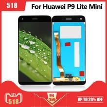 Display LCD per Huawei P9 Lite Mini Display Touch Screen Digitizer Assembly goditi 7/Y6 Pro 2017 LCD 100% Test pantalla spedizione gratuita