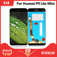 LCD สำหรับ Huawei P9 Lite MINI จอแสดงผล Touch Screen Digitizer ASSEMBLY ENJOY 7/Y6 Pro 2017 LCD 100% Test pantalla จัดส่งฟรี
