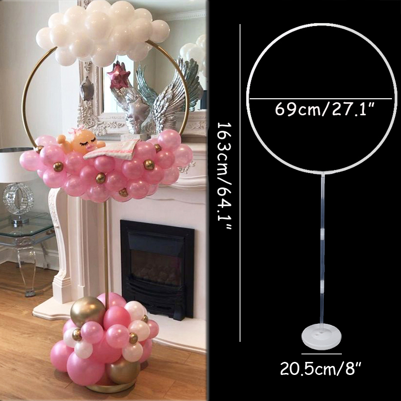 7/11/19tube Balloons Stand Balloon Holder Column Wedding Party Decoration Baloon Kids Birthday Party Balons Baby Shower Supplies 6