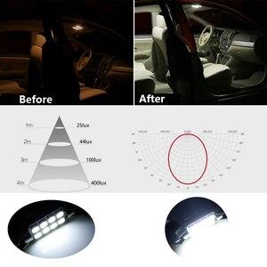 Image 4 - Bombillas LED de coche Canbus para Nissan Qashqai J10 J11 2013 2018, Kit de luz Led Interior para lectura, Kit de luz de techo, 10 Uds.