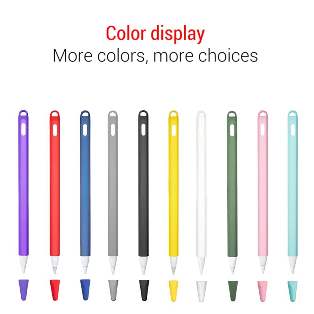 11 Pencil Case Holder Soft Non-slip Protective Tablet Touch Pen Sleeve Cup For Apple Pencil 2nd Generation