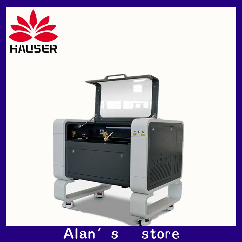 4060 Co2 Laser Engraving Machine DSP System 400 * 600mm Laser Cutting Machine For DIY / Wood / Acrylic / Cloth