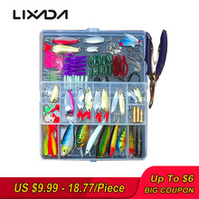 Fishing Lures Set Mixed Minnow/Popper Fish Lure Box 73/101/132pcs Spinner Spoon Cebo Grip Hook Isca Artificial Bait Kit Pesca(China)
