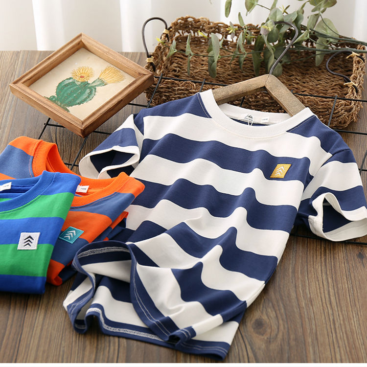 VIDMID Kids Boys T-shirt Summer Baby Boys Cotton Tops Toddler Tees Clothes Children Clothing T-shirts Short Sleeve Summer P111 1