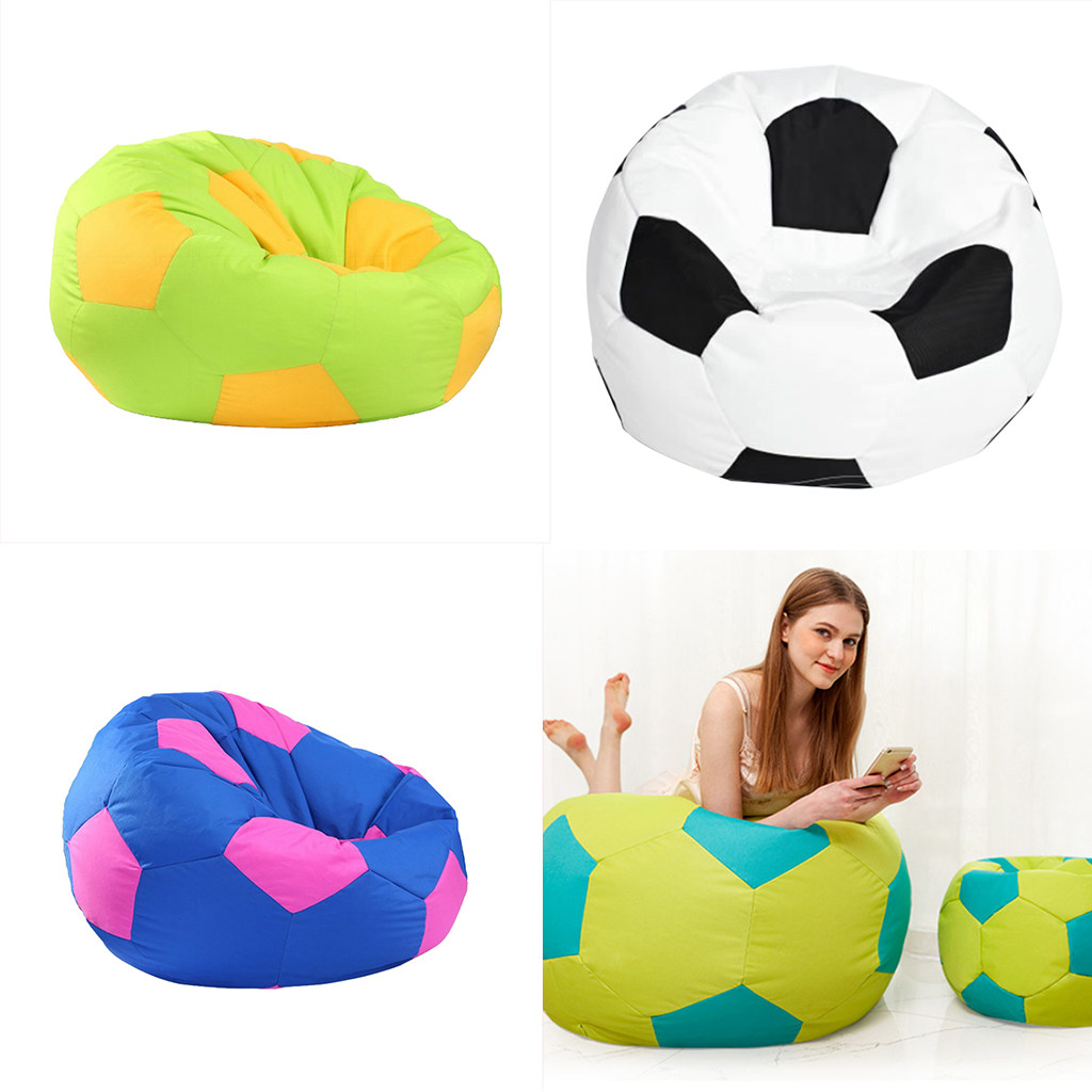 Intex 68557 Outdoor Inflatable Football Sofa Seat Chair Soccer